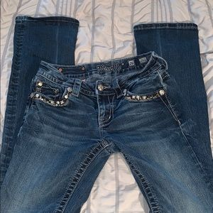 Size 26 Mid Rose Boot cut